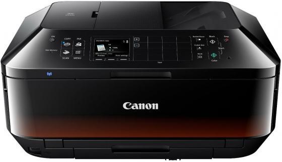 МФУ Canon PIXMA MX924 цветное A4 15ppm 9600x2400 Duplex автоподатчик факс Wi-Fi Ethernet USB 6992В007 мфу canon pixma mx494 цветное a4 9ppm 4800x1200 usb