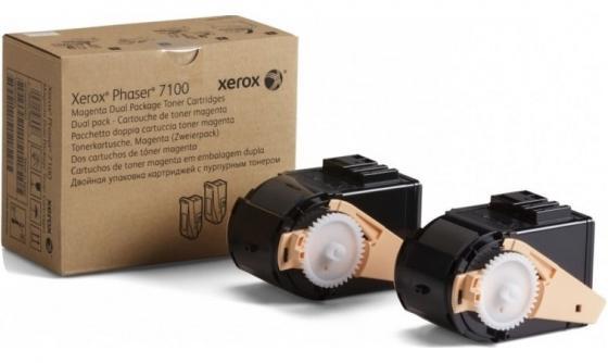 Картридж Xerox 106R02610 для Phaser 7100 пурпурный 9000стр картридж xerox 108r00909 для phaser 3140 2500стр