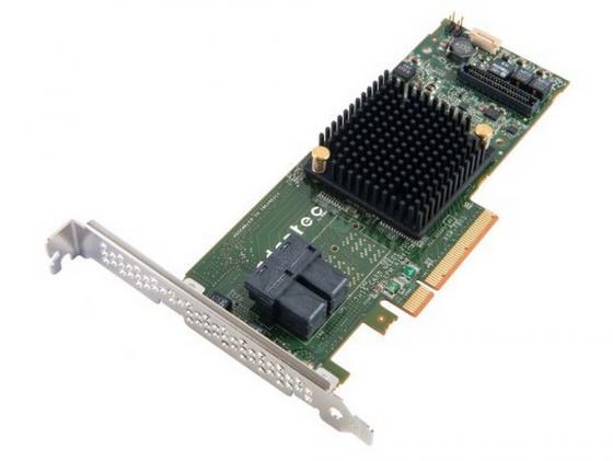 Контроллер SAS Adaptec ASR-7805 PCI-E v3 x8 LP SGL 2274100-R sas festplatte 300gb15ksas6gbpslff f617n