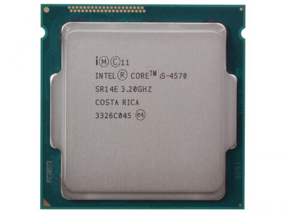 Процессор Intel Core i5-4570 3.2GHz 6Mb Socket 1150 OEM процессор intel core i5 6400 2 7ghz 6mb socket 1151 box