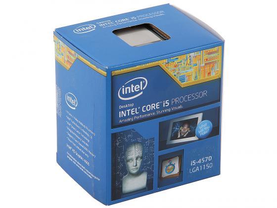 Процессор Intel Core i5-4570 3.2GHz 6Mb Socket 1150 BOX