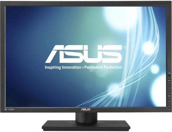 Монитор 24 ASUS PB248Q черный IPS 1920x1200 300 cd/m^2 6 ms DVI HDMI DisplayPort VGA Аудио USB монитор 24 asus pa248qj черный ips 1920x1200 300 cd m^2 6 ms hdmi displayport vga аудио usb dvi 90lmg0150q50081e