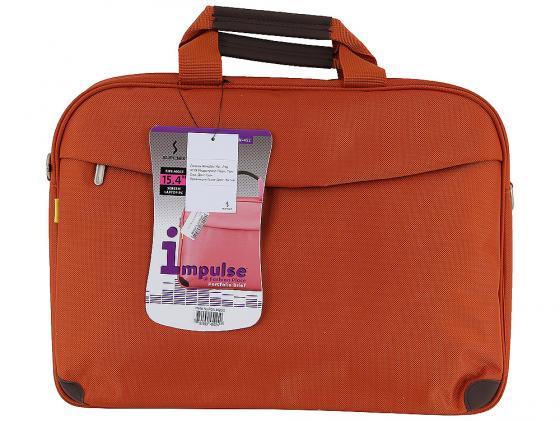 """Сумка для ноутбука 15"""" Sumdex PON-452OG нейлон/полиэстер оранжевый сумка для ноутбука 15 sumdex pon 321nv синий"""