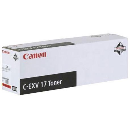 Фото - Тонер Canon C-EXV17M для iRC4080i/4580i пурпурный 30000 страниц тонер canon c exv17y для irc4080i 4580i желтый 30000 страниц