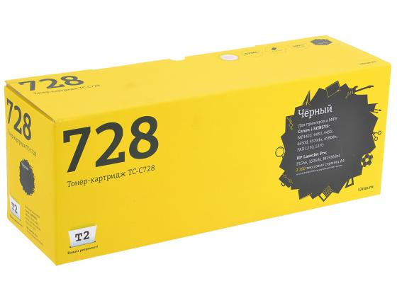 Картридж T2 TC-C728 для Canon i-SENSYS MF-4410 4430 4450 4550 4570 4580 тонер картридж cactus csp c728 premium черный для canon i sensys mf4410 4430 4450 4550d 3000стр