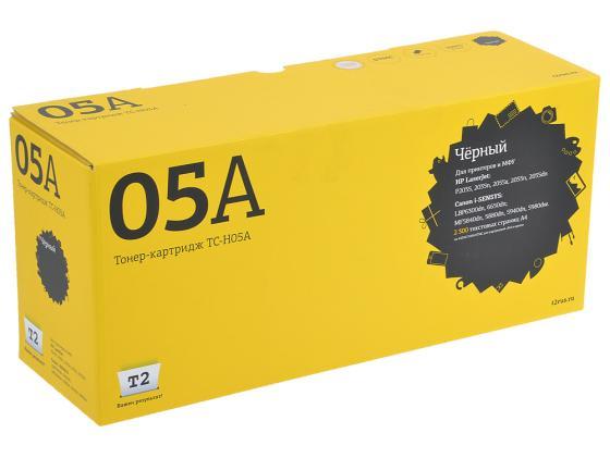 Картридж T2 CE505A для LaserJet P2035 P2055d P2055dn TC-H05A замена тонера для hq ce505a принтеры hp laserjet p2035 p2035n p2050 p2055 p2055d p2055dn p2055x