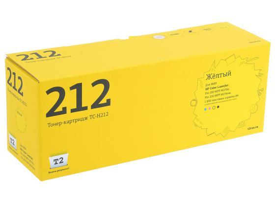 Картридж T2 CF212A №131A для HP LJ Pro 200 M251 M276 1800стр. желтый TC-H212 тонер картридж hp 131a cf212a yellow