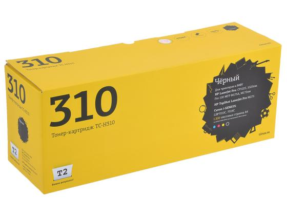 Картридж T2 CE310A №126A для HP CLJ Pro CP1025 M175A M275 Canon 7010C 7018C черный TC-H310 картридж profiline pl ce313a 729 for hp cp1025 cp1025nw m175a m175nw m275 canon 7010 7010c lbp7018c magenta