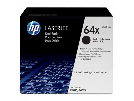 Картридж HP CC364XD для LaserJet P4015 P4515 48000стр 100% original for hp laserjet p4015 p4014 p4515 top cover assembly rm1 4552 000 rm1 5250 000 rm1 4552 on sale