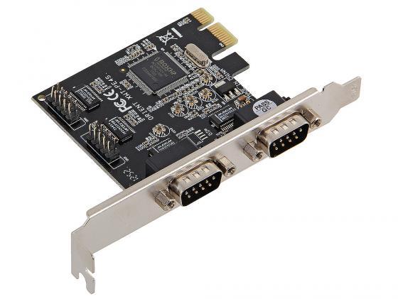 Контроллер PCI-E Orient XWT-PE4S 4xCOM доп 2x DB9 COM 9pin oem pci e to