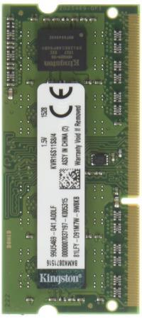 все цены на Оперативная память для ноутбука 4Gb (1x4Gb) PC3-12800 1600MHz DDR3 SO-DIMM CL11 Kingston KVR16S11S8/4 онлайн