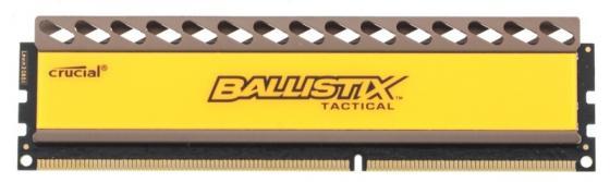 Оперативная память 4Gb PC3-12800 1600MHz DDR3 DIMM Crucial Ballistix Tactical 8-8-8-24 BLT4G3D1608DT1TX0CEU оперативная память crucial ballistix tactical blt8g3d1608et3lx0ceu ddr3l 1 8гб pc3 12800 1600мгц dimm
