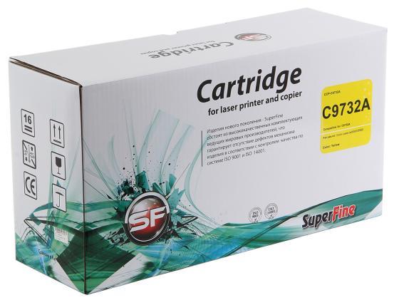 Фото - Картридж SuperFine C9733A для HP Color LJ 5500 5550 Пурпурный 12000стр картридж hp c9731ac для hp laserjet 5500 голубой 12000стр