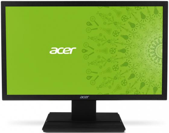 Монитор 20 Acer V206HQLAb черный TN 1600x900 200 cd/m^2 5 ms VGA монитор acer v206hqlab