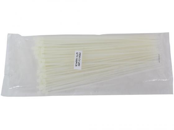 Пакет со стяжками 250x2.5мм 100шт cтяжка пластиковая gembird nytfr 150x3 6 150мм черный 100шт