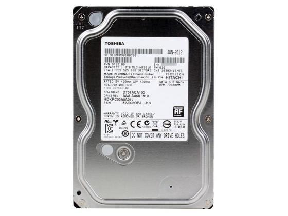 Жесткий диск 3.5 1 Tb 7200rpm 32Mb cache Toshiba Mars SATAIII DT01ACA100 жесткий диск 1tb toshiba 3 5 mars dt01aca100 dt01aca100