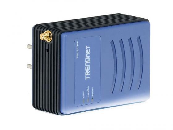 Точка доступа TRENDnet TPL-210AP Powerline LAN 84 Mbps 802.11g 54 Mbps 14,5 dBm lacywear dgd 10 tpl