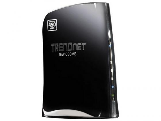 Мост Wi-Fi TRENDnet TEW-680MB 802.11n 450 Mbps 2.4 ГГц или 5 ГГц 4xLAN маршрутизатор trendnet tew 680mb page 10
