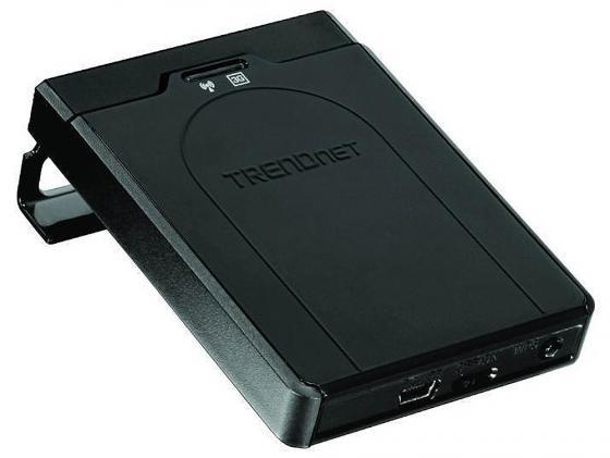 Точка доступа TRENDnet TEW-716BRG 802.11bgn 150Mbps 2.4 ГГц 0xLAN USB черный trendnet tew 623pi