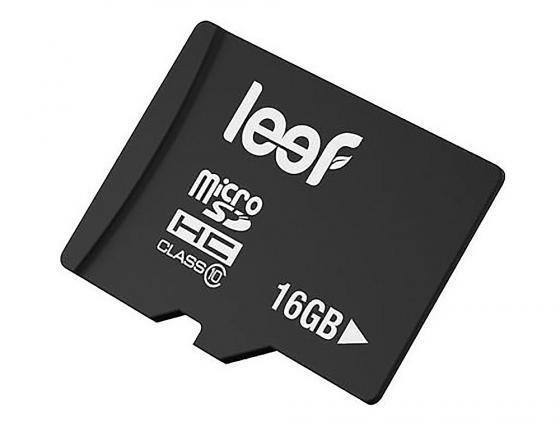 Карта памяти Micro SDHC 16Gb Class 10 Leef LFMSD-01610R карта памяти micro sdhc 16gb class 10 leef lmsa0kk016r5 адаптер sd