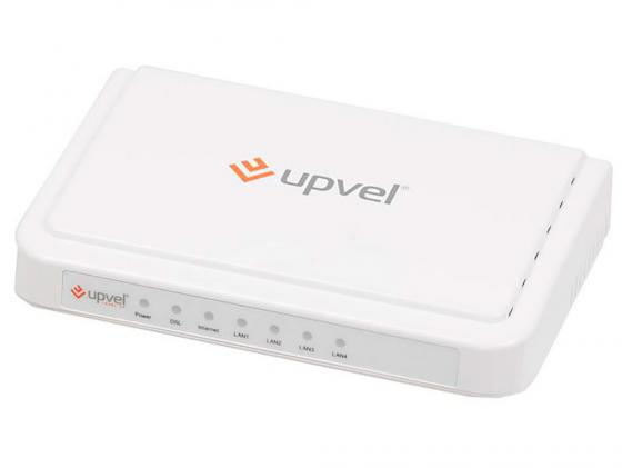 Маршрутизатор ADSL Upvel UR-104AN 4xLAN с поддержкой IPTV точка доступа adsl upvel ur 203awp 3xlan ip tv
