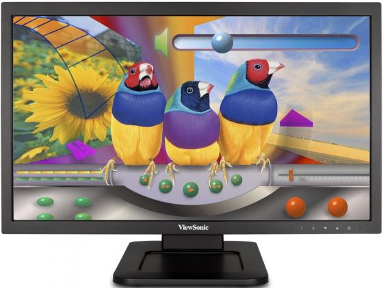 Монитор 22 ViewSonic TD2220 черный TN 1920x1080 200 cd/m^2 5 ms DVI VGA Аудио USB VS14833 монитор 22 asus vp228de черный tn 1920x1080 200 cd m^2 5 ms vga аудио