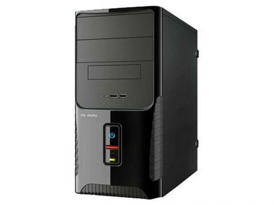 Корпус microATX InWin ENR029 400 Вт чёрный корпус microatx inwin enr 028bl 400 вт чёрный