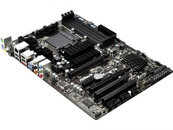 Материнская плата ASRock 970 Extreme3 R2.0 SocketAM3+ AMD 970 4xDDR3 2xPCI-E 16x 2xPCI-E 1x 2xPCI 5xSATA 7.1 Sound Glan ATX Retail