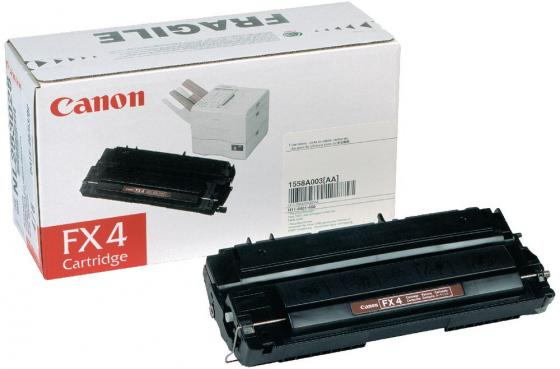 Картридж Canon FX-4 для FAX-L800 900 lcl fx9 fx 9 3 pack black toner cartridge compatible for canon fax l 100 l 120 faxphone 120 mf4150 fax l905a i sensys 4120