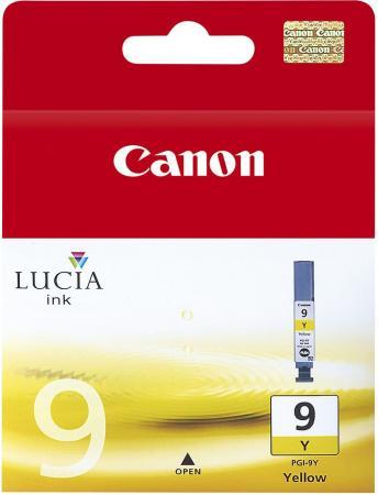 Картридж Canon PGI-9Y для PIXMA Pro9500 Pro9500 Mark II жёлтый чернильный картридж canon pgi 29pm