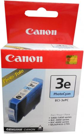 Картридж Canon BCI-3ePC для BJC-3000 S400 6000 6100 6200 6200S светло-голубой картридж bci 6 pc для canon pixma 6000 mp750 mp780
