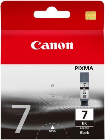 Картридж Canon PGI-7Bk для PIXMA MX7600 iX7000 черный картридж струйный canon pgi 450xlpgbk 6434b001 черный для canon pixma ip7240 mg6340 mg5440