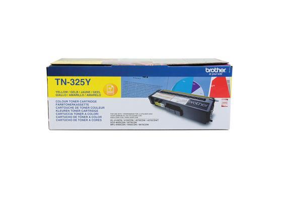 Картридж Brother TN-325Y для HL-4150CDN MFC-9465CDN желтый цена