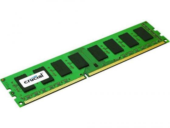 Оперативная память 4Gb PC3-12800 1600MHz DDR3 DIMM Crucial СТ51264ВА160В/CT51264BD160BJ