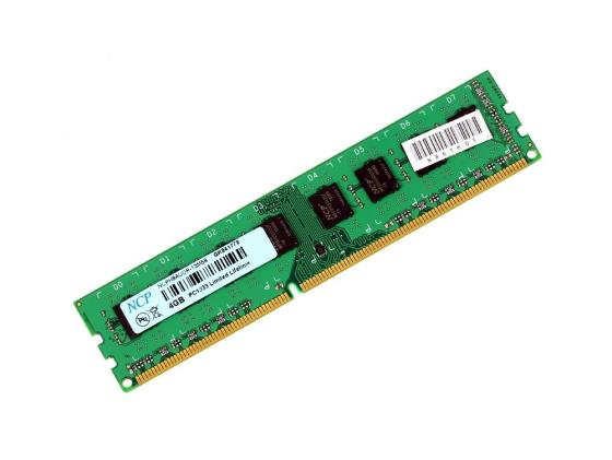 Оперативная память 4Gb PC3-10600 1333MHz DDR3 DIMM NCP jzl 1 35v low voltage ddr3l 1333mhz pc3 10600s 4gb ddr3 pc3 10600 1333 1066 mhz for laptop notebook sodimm ram memory sdram