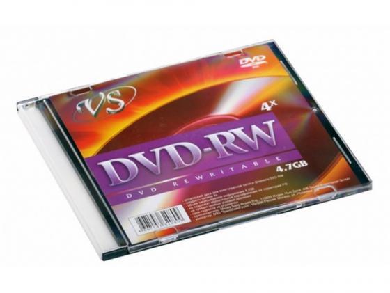 Диски DVD-RW VS 4x 4.7Gb SlimCase 1шт джой dvd