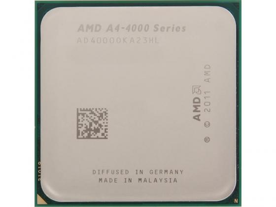 Процессор AMD A4 4000 AD4000OKA23HL Socket FM2 OEM процессор amd a4 4000 box ad4000okhlbox
