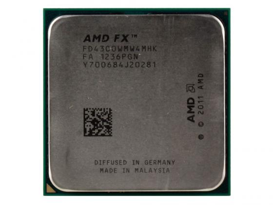 Процессор AMD FX-4300 FD4300WMW4MHK Socket AM3+ OEM цена 2017