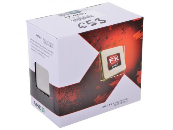 все цены на Процессор AMD FX-4300 FD4300WMHKBOX Socket AM3+ BOX онлайн