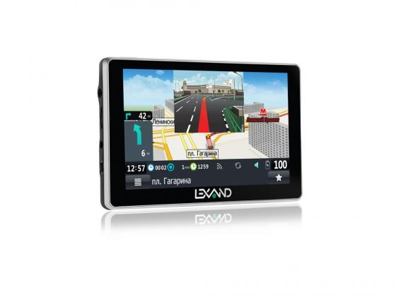 Навигатор LEXAND SA5 5 480x272 4Gb microSD черный Navitel lexand a1 basic black