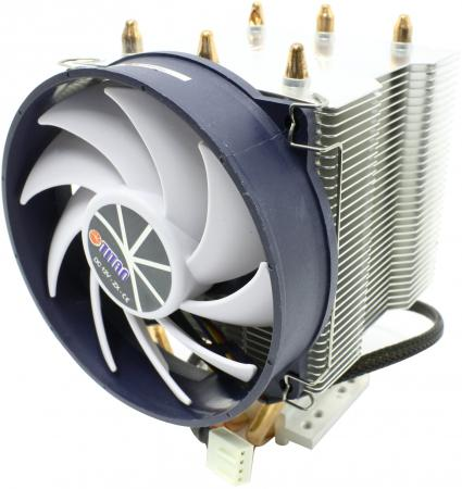 Кулер для процессора Titan TTC-NK35TZ/RPW(KU) Socket 775/1366/1156/K8 кулер для процессора titan ttc nc15tz ku rb socket 1366 1156 1155 775 am3 am2 am2 k8