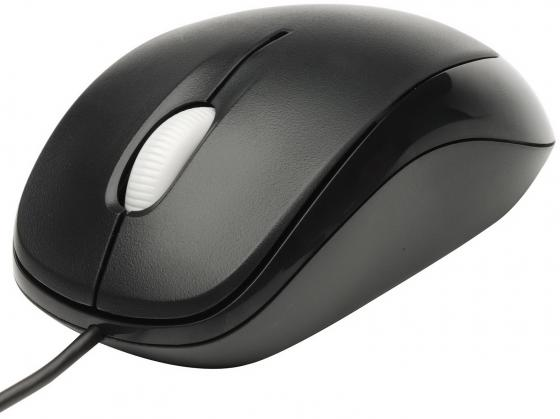 Мышь проводная Microsoft Compact Optical Mouse 500 чёрный USB u81 00083 мышь microsoft compact optical mouse 500 usb black rtl