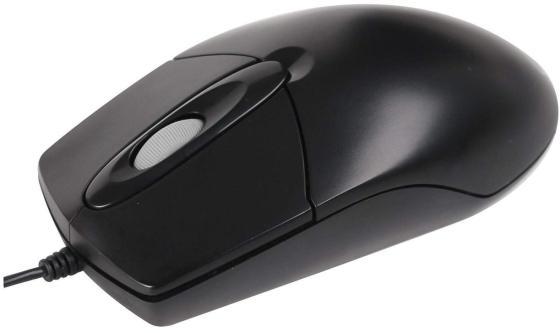 цена на Мышь проводная A4TECH OP-720 чёрный PS/2