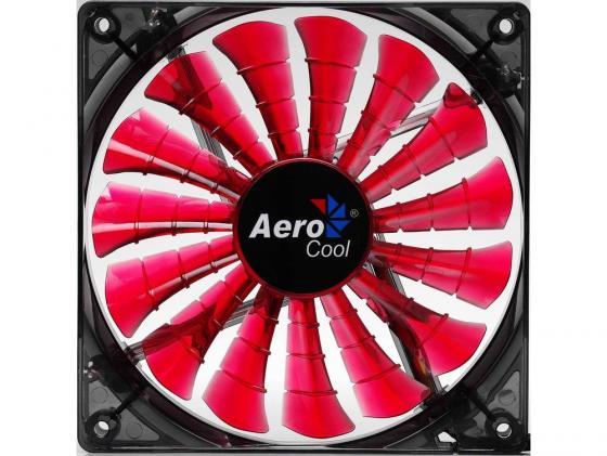 Вентилятор Aerocool Shark Devil Red Edition 120mm 800rpm 12.6 dBA красная подсветка EN55437 вентилятор aerocool shark blue edition 120mm 800rpm 12 6 dba синяя подсветка en55420