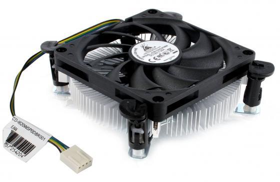 Кулер для процессора GlacialTech Igloo i620 PWM (E) Socket 1156/1155 800-3600RPM 34.2dBa Low Profile 29mm OEM