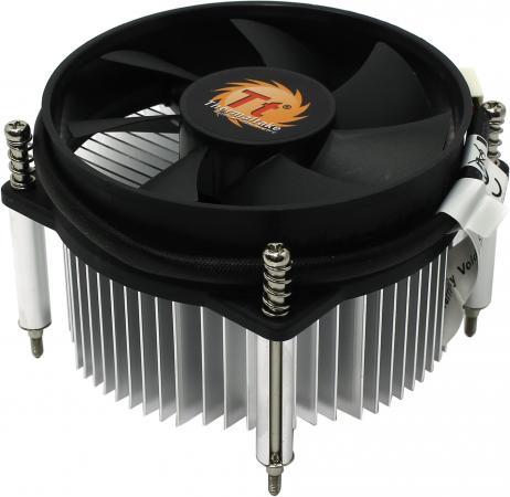 Кулер для процессора Thermaltake ITBU CLP0556 Socket 1156 2100 RPM CLP0556 crystal probe oscillator test socket burn in socket for 7050 4pin crystal size 7 0x5 0mm xo crystal test socket burn in socket