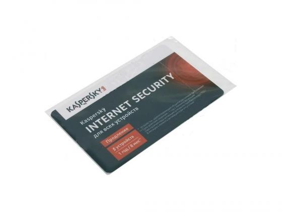 Антивирус Kaspersky Internet Security Multi-Device продление лицензии на 12 мес на 5 устройств карта KL1941ROEFR антивирус