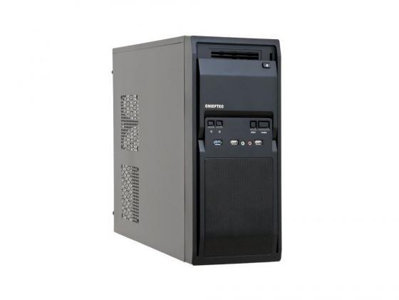 Корпус ATX Chieftec LG-01B Без БП чёрный бп atx 500 вт chieftec gpb 500s