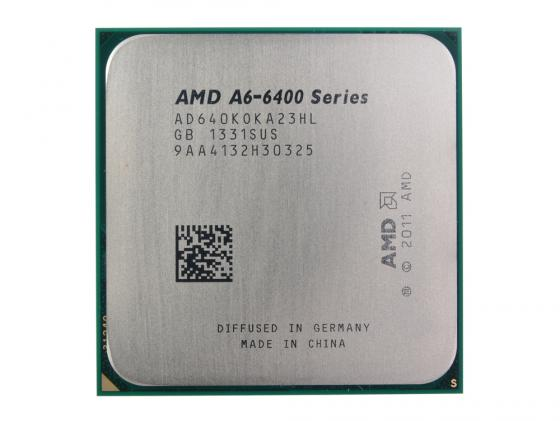 Процессор AMD A6 6400K AD640KOKA23HL SocketFM2 OEM процессор amd a4 4000 box &lt socketfm2&gt ad4000okhlbox