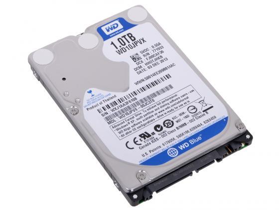 Жесткий диск для ноутбука 2.5 1 Tb 5400rpm 8Mb cache Western Digital WD Scorpio Blue SATAIII WD10JPVX